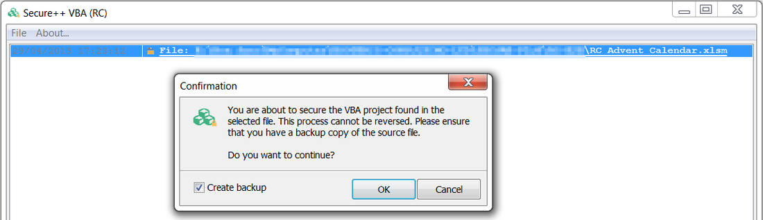 Secure++ VBA Compiler for Microsoft Office Excel