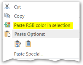 Excel Color Commander