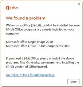 office 2010 32 bit or 64 bit how to tell