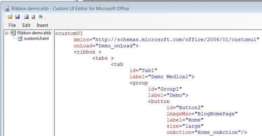 Office Excel Ribbon Editors