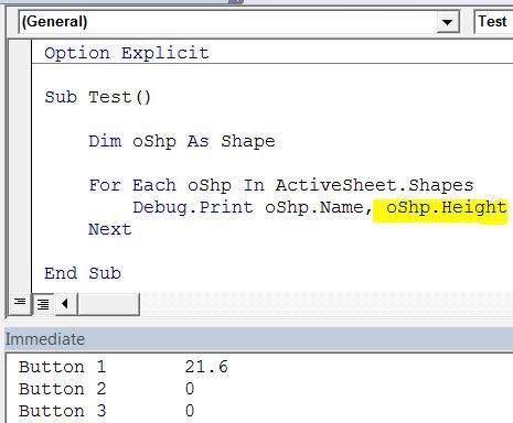 Excel VBA Bugs